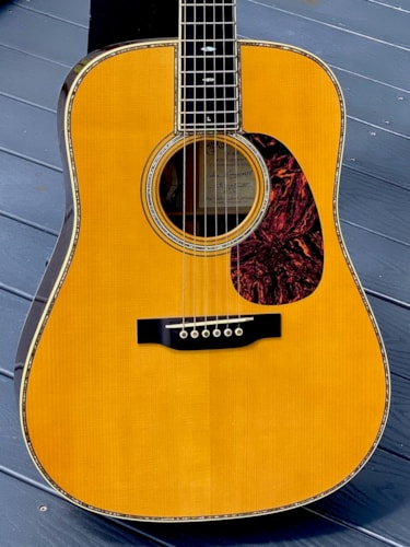 2005 Martin D-45 Mike Longworth Commemorative Edition # 63 of 91