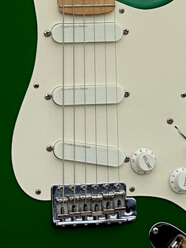 1989 Fender  Stratocaster Eric Clapton Signature Model 7 Up Green