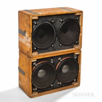 1973 Grateful Dead Wall of Sound Loudspeaker Cabinets