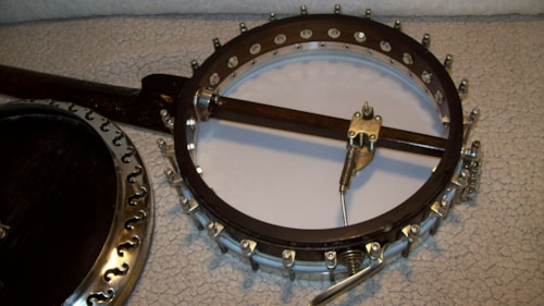 1920s Bacon and Day Silver Bell No.2 Banjo