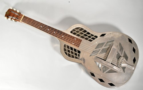 1927 National Style 2 Square Neck Acoustic Resonator Guitar w/SSC #125