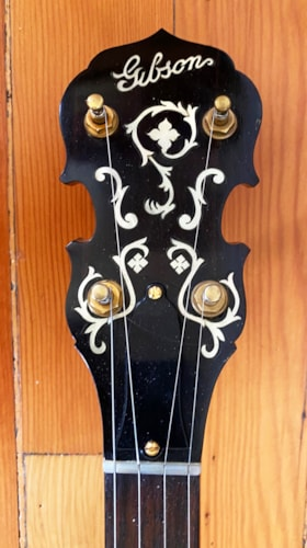 1928 Gibson  TB-5  Five-string Conversion