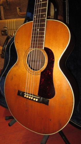 ~1929 Gibson  L-1 Flattop Acoustic Natural Sounds Incredible w/ nice vintage case