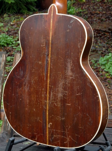 1936 Larson Brothers Leland Jumbo - thin body acoustic - Unique and a Hoss