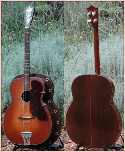 1936 Martin - Paramount Style L Shaded Top, Very Good
