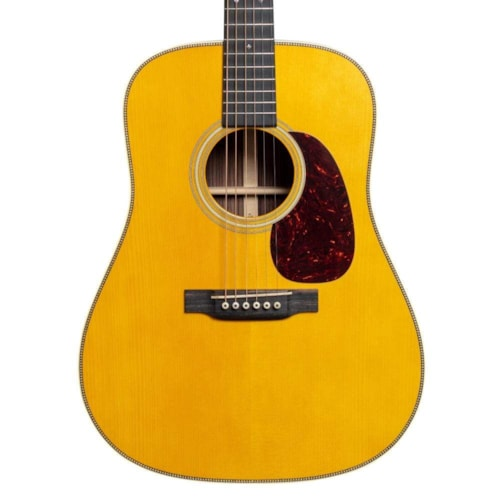 Martin Custom Shop D-28 Authentic 1937 Aged Natural Vintage Low Gloss