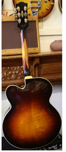 1940 Gibson Super 400 Premier Sunburst, Very Good, Original Hard