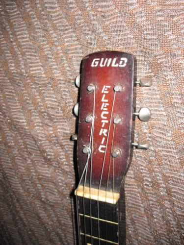 ~1940 Guild Lap Steel Red
