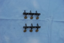 ~1948 Vintage 3-on-a-plate tuners