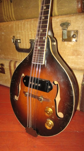 ~1950 Gibson EM-150 Electric Mandolin w/ P-90 Pickup Sunburst