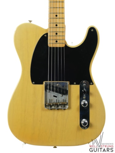 1952 Fender Esquire Blackguard Blond