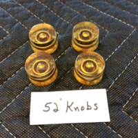 1952 Gibson Les Paul Goldtop Knobs