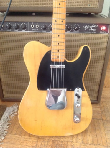 1953 Fender® Telecaster® Excellent, Hard, $28,500.00