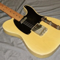 1953 Fender Telecaster (real deal)