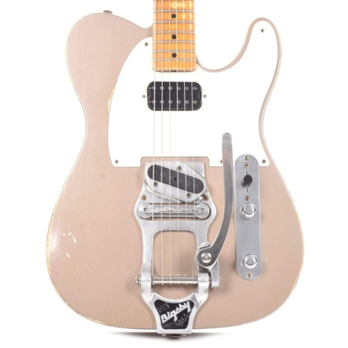 Fender Custom Shop 1953 Telecaster Relic Shoreline Gold Master Built by Todd Krause w/Bigsby B16