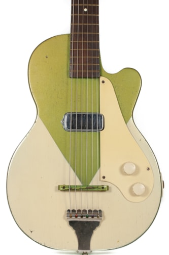 ~1953 Orpheus H44 (Made by Kay) Cream and Green