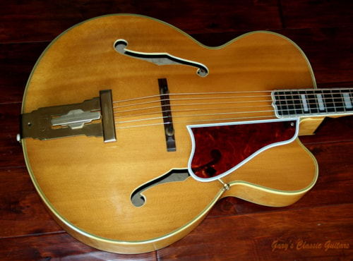 1954 Gibson L-5 CN (#GAT0366) Blonde, Excellent, Original Hard