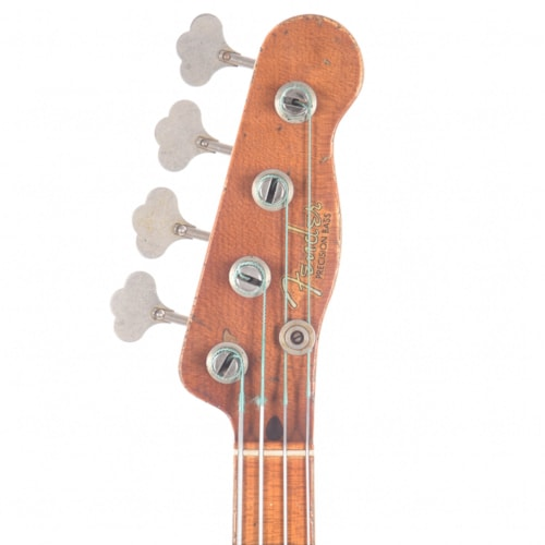 "Fender Custom Shop 1955 Precision Bass ""CME Spec"" Relic Aged Nocaster Blonde Master Built by Vincent Van Trigt (Serial #XN3386)"