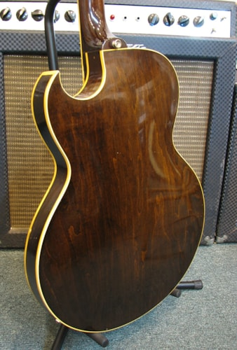 1956 Gibson ES-225T Sunburst, Very Good, Hard, $2,600.00
