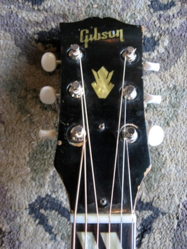 1957 Gibson Country Western Natural, Very Good, Hard