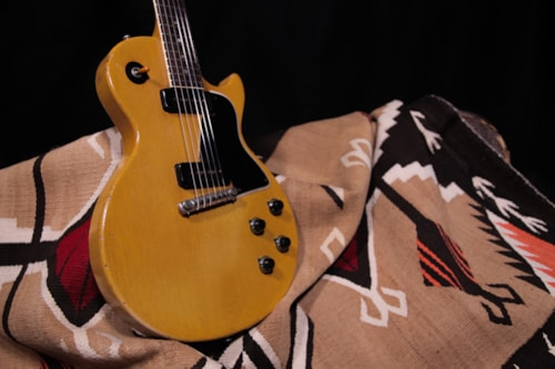 "1957 Gibson Les Paul TV Special  ""TV Yellow"""