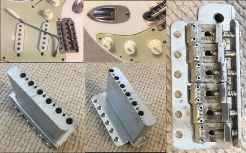 1959 Fender Stratocaster ON HOLD Oly White refin (body only)