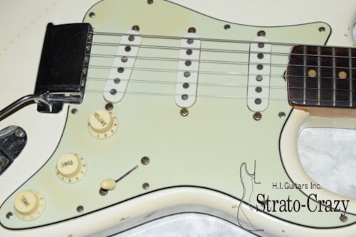 1959 Fender® Stratocaster® Olympic White, Excellent, Original Hard, Call For Price!