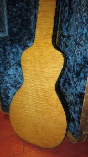 ~1959 Silvertone Deluxe Lap Steel Natural Curly Maple