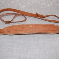 1960 Ace leather guitar strap