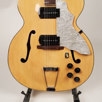 1960 Blonde Kay Upbeat Model K8990B All original with a hard shell case. Very clean...!