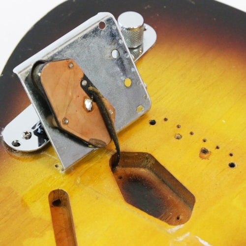 1960 Fender Custom Esquire Vintage Electric Guitar w/Original Gigbag, Strap, & Ash Tray Cover!