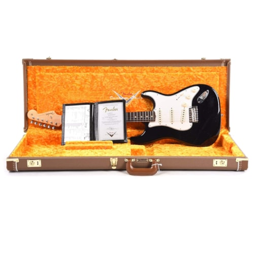 """Fender Custom Shop 1960 Stratocaster """"Chicago Special"""" Deluxe Closet Classic Aged Black Sparkle"""
