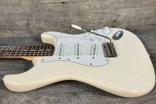 1960 Fender Stratocaster Olympic White Refinished