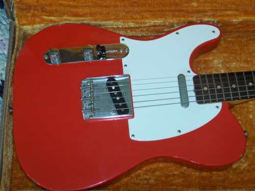 "1960 Fender Telecaster Red ""Lefty"""