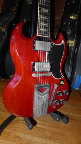 1960 Gibson SG Red