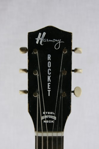 1960 Harmony Rocket H59 3 DeArmond™ Pickups! Sunburst, Very Good, $950.00