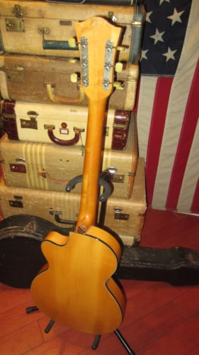 1960 Hofner Club 50 Electric Archtop Natural