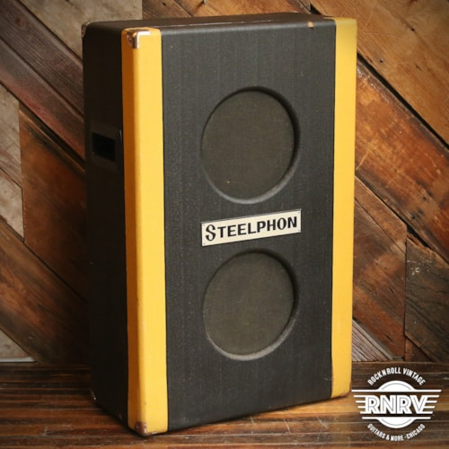 1960's Steelphon BA-805 Vertical 2x10 Guitar Cabinet (Made in Italy)