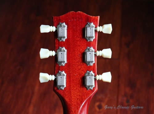 1961 Gibson SG Les Paul Standard  #GIE0878) Cherry red, Excellent, Original Hard, $13,995.00