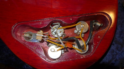 1961 Gibson SG Red