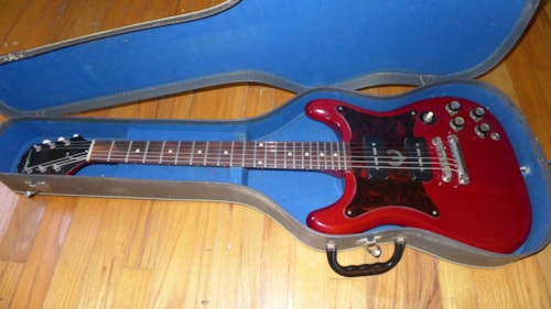 1962 Epiphone Wilshire Red