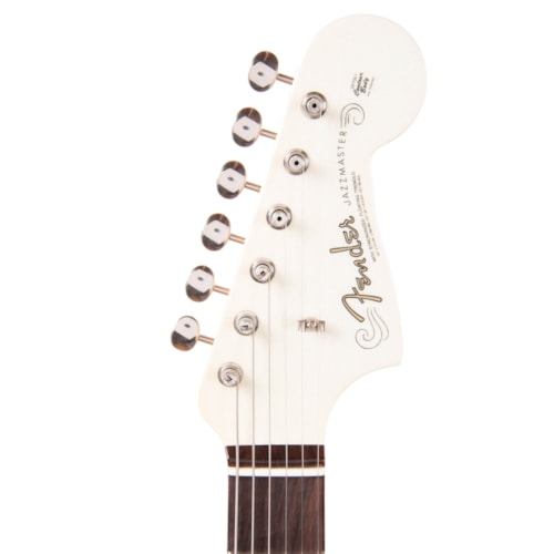 """Fender Custom Shop 1962 Jazzmaster """"Chicago Special"""" Deluxe Closet Classic Aged Olympic White Sparkle w/Painted Headcap"""