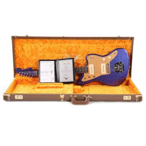 """Fender Custom Shop 1962 Jazzmaster """"Chicago Special"""" Deluxe Closet Classic Purple Sparkle Flake w/Roasted Maple Neck"""