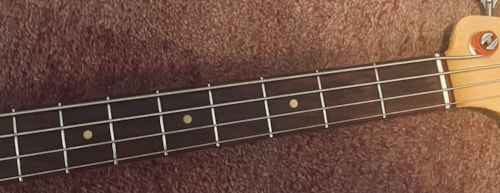 1962 Fender Precision Bass Olympic White