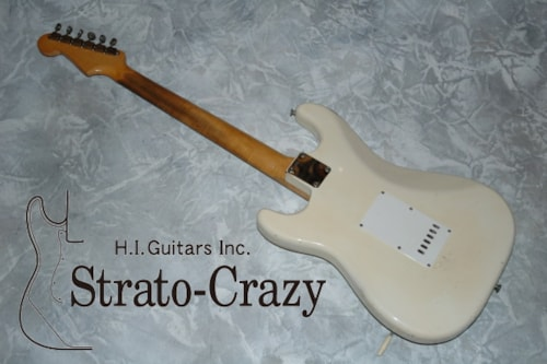 1962 Fender® Stratocaster® Olympic White, Very Good, Original Hard, Call For Price!