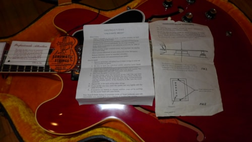 1962 Gibson ES-335 Red