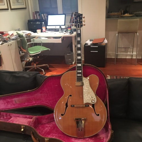 1962 Gibson L5-CT blonde (On Hold)