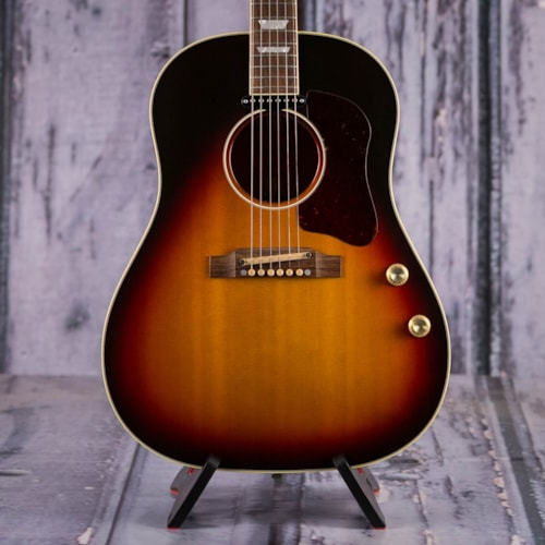 Used Gibson Limited Edition 1962 J-160E Acoustic/Electric, Vintage Sunburst