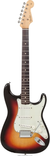 1963 Fender Stratocaster sunburst, Excellent, Hard, Call For Price!