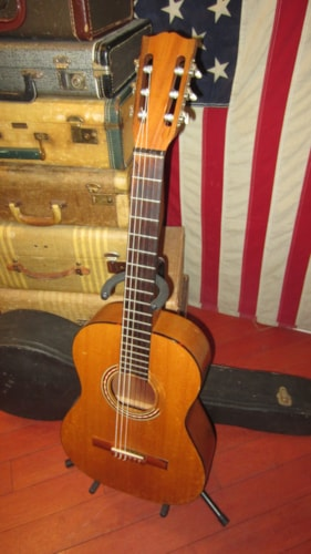 ~1963 Gibson C-0 Classical Nylon String Acoustic Natural w/ Original Hard Case